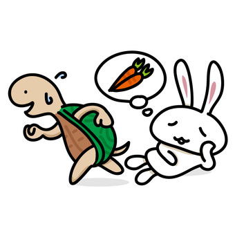 Story: Rabbit and turtle
