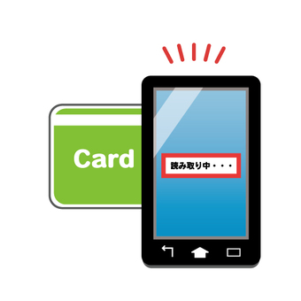 Image to scan card with smartphone