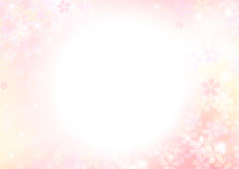 Cherry blossom frame / Frame