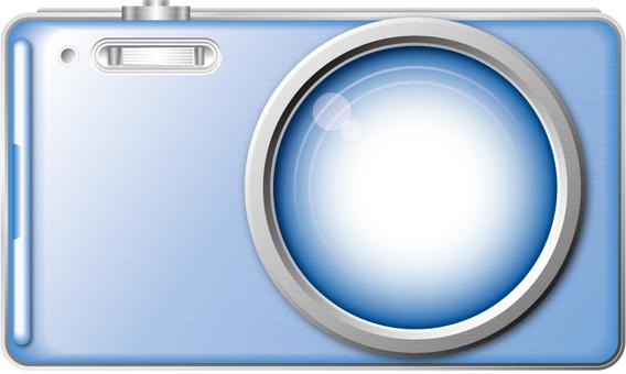 Digital camera 2 (blue)