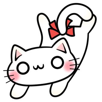 のびと하고있는 고양이 양 1