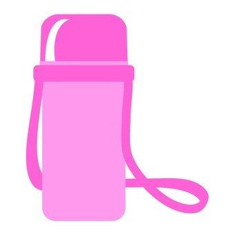 Water bottle (pink)