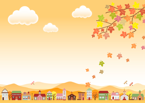 Fall image material 133