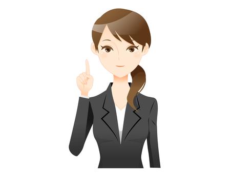 A suit woman 04