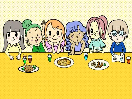 6個女孩圖