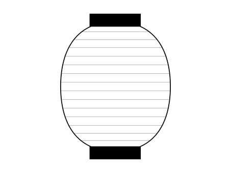 Lanterns _ Large (line drawing)