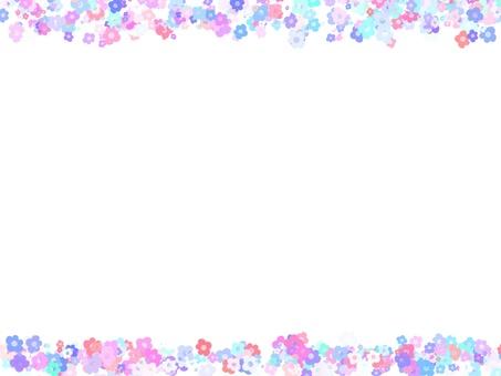 꽃 프레임 6
