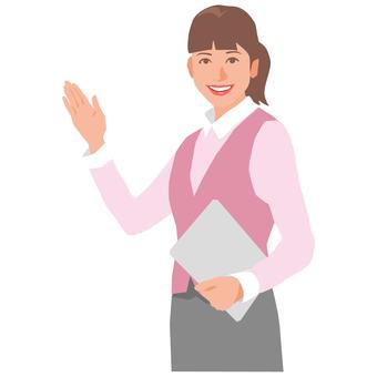 비즈니스 여성