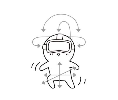 VR 추적 위치 조정 ゆるぼ ~