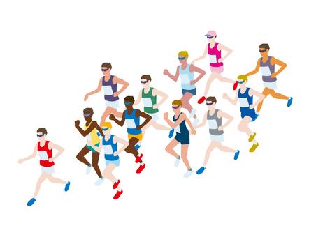マラソン 2