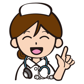 護士誰觸摸你的手指