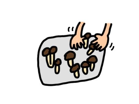 Unravel mushrooms