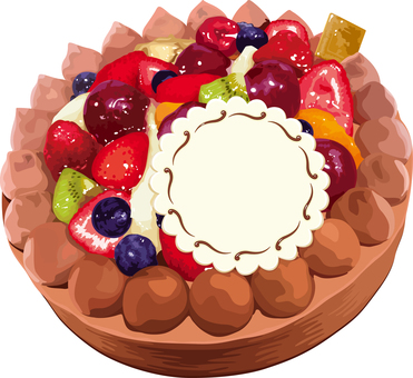 Decoration cake Birthday cake
