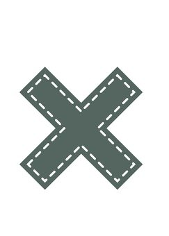 Symbol (x) Applique wind