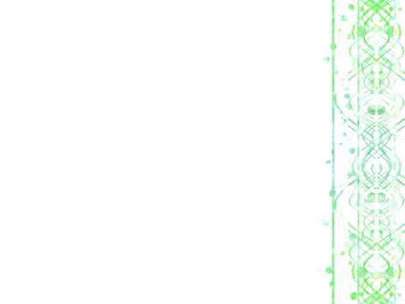 Glitter Line 15 (Green)
