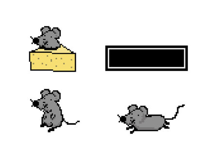Dot picture rat zodiac