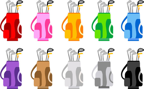 Golf bag color set