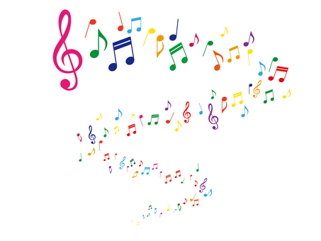 Musical note illustration _ 4