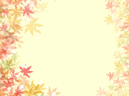 Autumn leaves background 椛 16092105