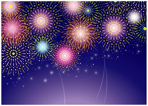 Fireworks background 2