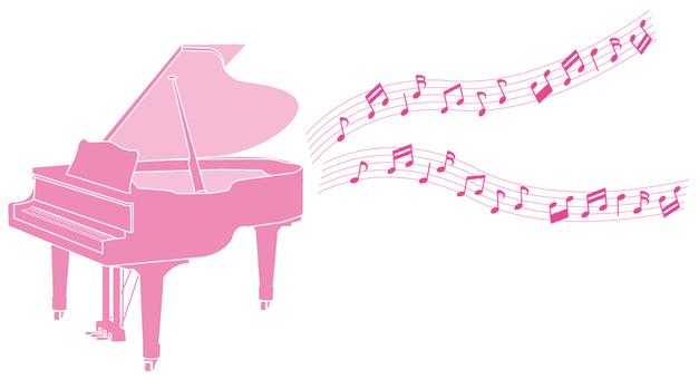 Pink no piano
