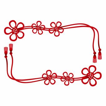 Plum knot / frame