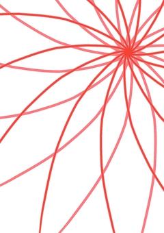 Wallpaper flower red