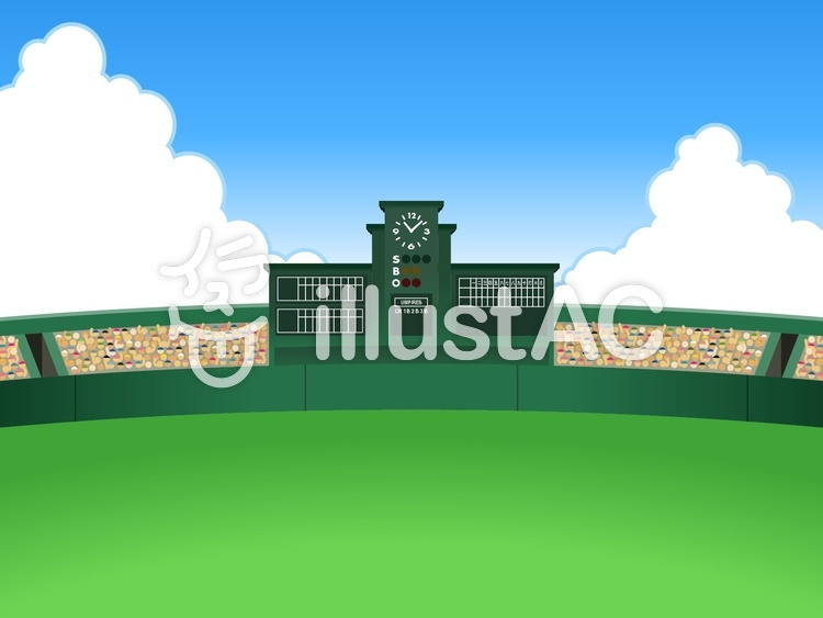 野球-001のイラスト