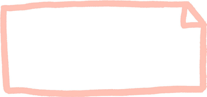 Hand-drawn frame (light pink)