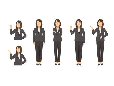 Business woman - set 3
