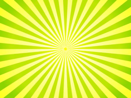 Yellow and yellowish green radiation