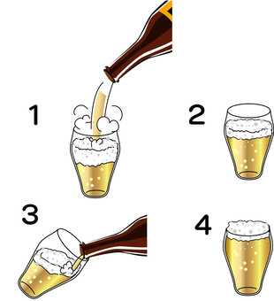 How to pour tasty beer