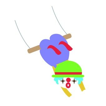 Airborne swing colorful 1