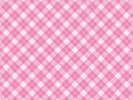 Gingham cloth pink