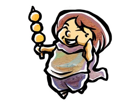 Dumplings delicious aunt