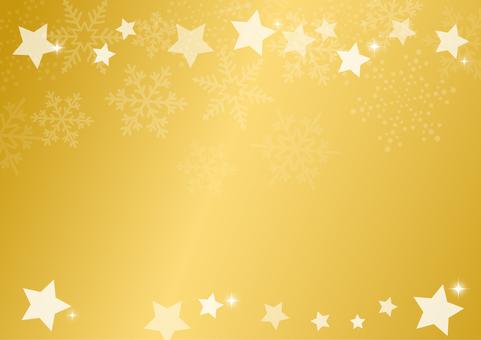 Background snow stars