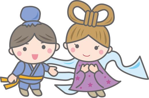 Orihime and Hikitoshi
