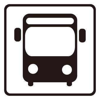 アイコン-2ver.交通-バス