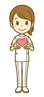 女(護士):B_ Heart 01 FS