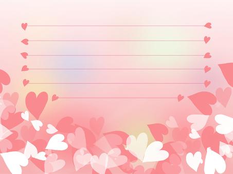 Pink Heart Card 2