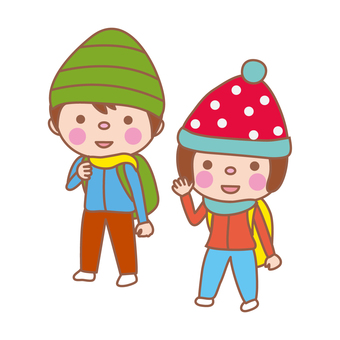 Hiking / climbing (child)