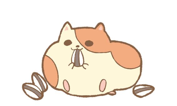 Munching hamster