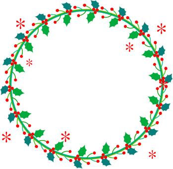 Christmas Horley Frame