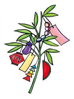 Tanabata bamboo shoots