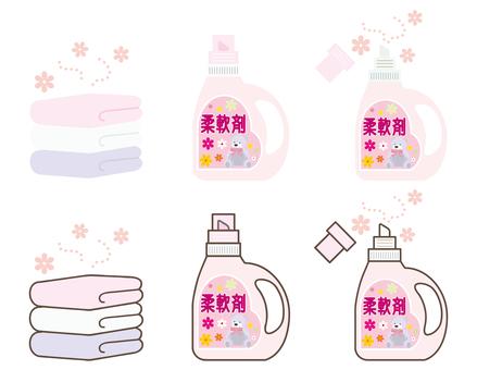 Household chores 10 (softener set 01)