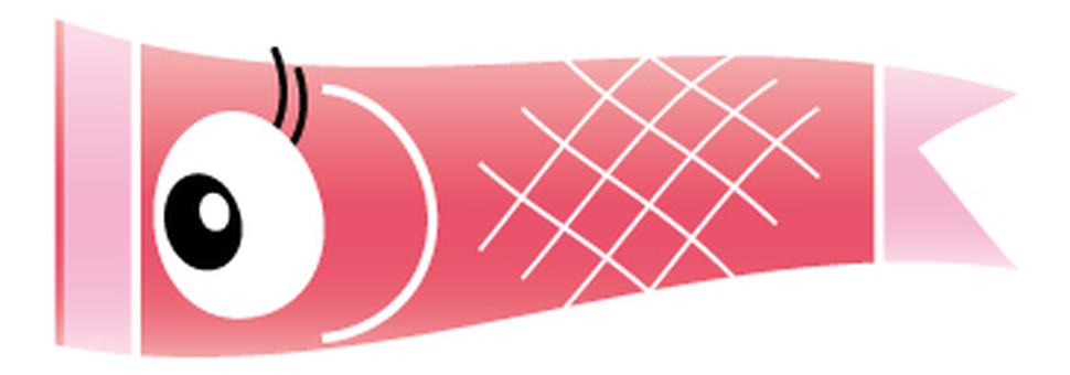 Koinobori Warp - Pink