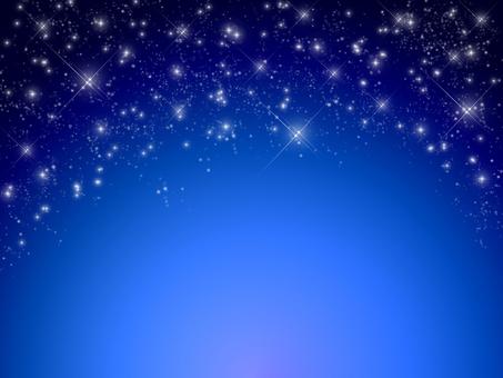 Bright night sky · starry sky