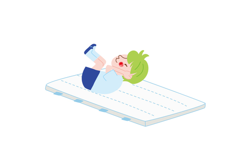 Gymnastics mat for children