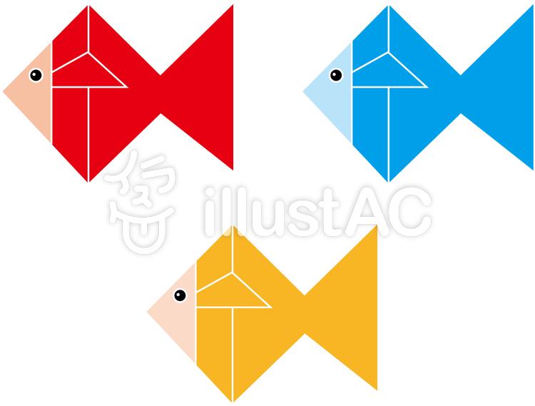 折り紙 金魚イラスト No 179296無料イラストならイラストac