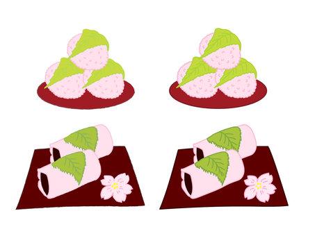 兩種類型的櫻桃三文魚
